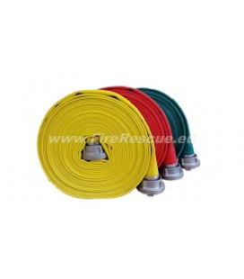 EUROFLEX TXS FIREFIGHTING PRESSURE HOSE 75-B WITHOUT COUPLINGS