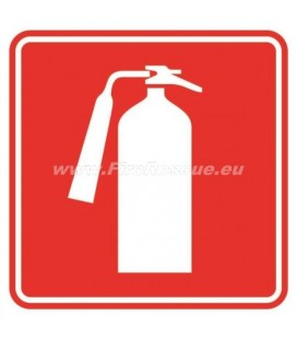PLATE FIRE EXTINGUISHER 150 X 150 MM
