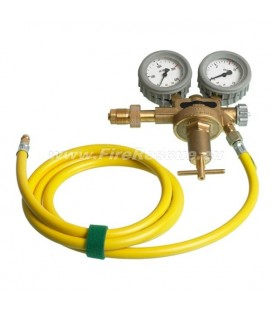 REGULATOR 300 BAR WITH 2M HOSE (V-COUPLINGS)